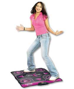 Beat Pad:Non-slip rubber bottom and durable top dancing surface for smooth transitions from step to