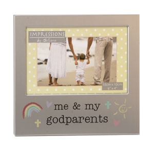 Unbranded Me and My Godparents 6 x 4 Photo Frame