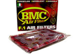 BMC air filters are designed and produced to ensure a higher air flow than original paper filters