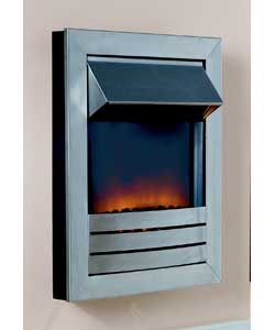 Unbranded Meridan Wall Mounted Electric Fire