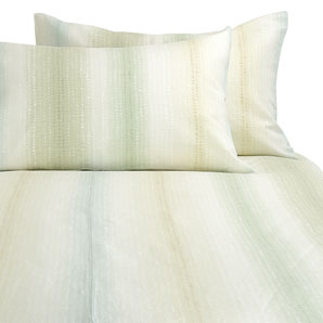 John Lewis Single Mint 100% cotton duvet cover Mineral Stripe Duvet cover