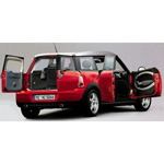 Unbranded Mini Cooper Clubman 2007 Red