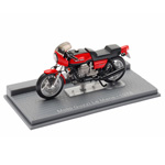 IXO has released a 1/24 scale replica of the Moto Guzzi Le Mans from 1978.
