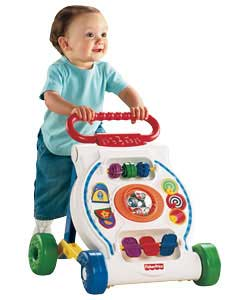 2 in 1 activity centre and walker!Plays music when baby walks or plays with the busy activities