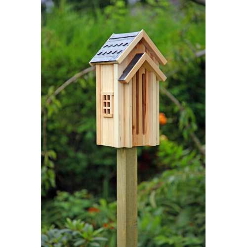 Encourage butterflies into your garden with this stunning butterfly hibernation box. The house is ha