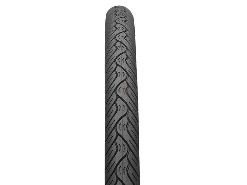 "This armoured version of our classic 26"" fast rolling Nimbus tire has a rounded profile and"