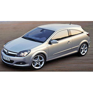 Unbranded Opel Astra GTC OPC 2006 Silver