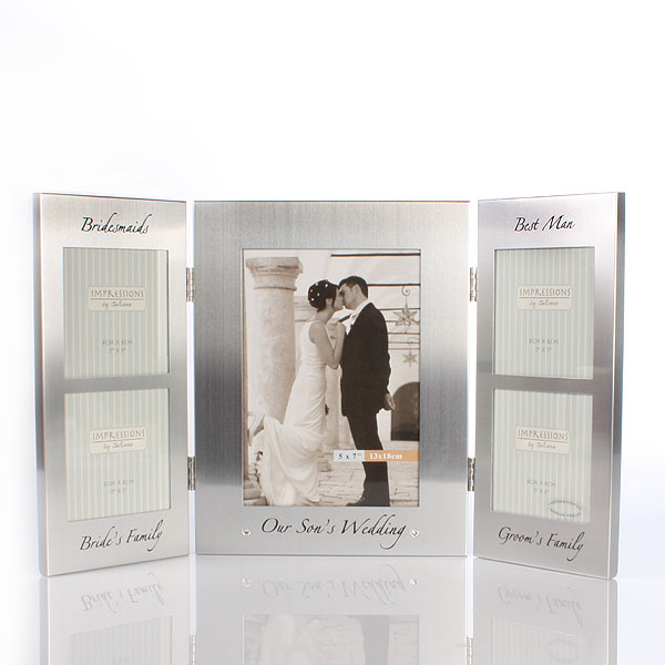 Unbranded Our Sons Wedding Photo Frame
