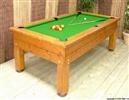 An all wealthier 7ft Evergreen outdoor Pool table from BWL.