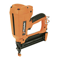 Paslode F18 Fine Finish Nailer, ergonomically designed and lightweight, with narrow nosepiece for