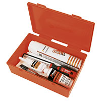 Paslode Impulse Cleaning Kit. Includes degreaser, synthetic oil, Allen wrench, brush and cloth