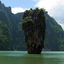 Take an exhilarating speedboat ride to discover spectacular limestone cliffs, lagoons, caves and tro