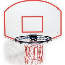 "Set containing 18"" ring, net, fitting kit and 31"" x 23"" backboard"