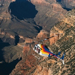 For that extra special occasion, why not upgrade your Grand Canyon Helicopter flight to this exclusi