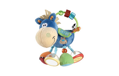 This adorable cuddly character Activity Rattle is a wonderful way of keeping your baby entertained w