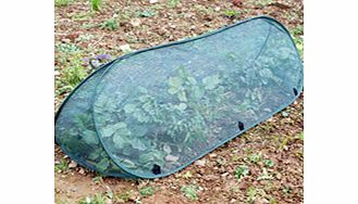 Our Pop-up Triangle Cloches offer convenient protection for your precious vegetables. Quickly and easily popped out and pegged down they can be equally quickly folded away into their storage bags for the winter. Choose from 4mm mesh net (which protec