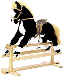 large top of the range rocking horse