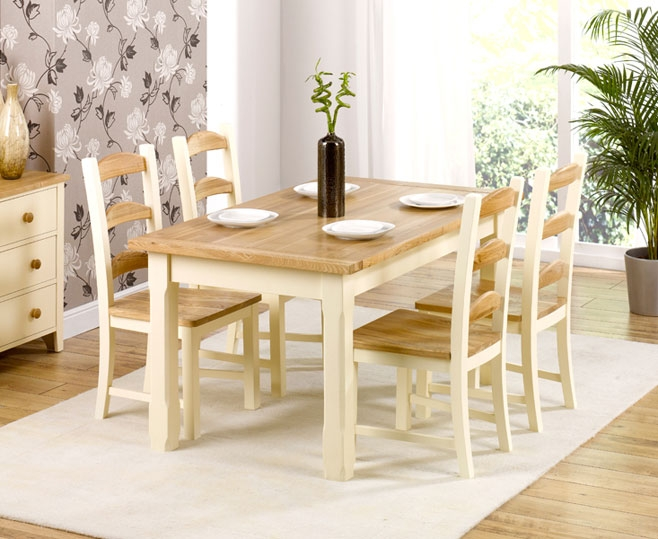 provencal kitchen dining table 130cm and 4 review compare prices. Interior Design Ideas. Home Design Ideas