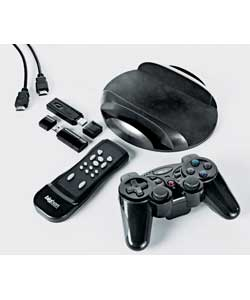 Get in the game with Mega Pack; for the  Playstation 3, a full range of accessories to  maximize you