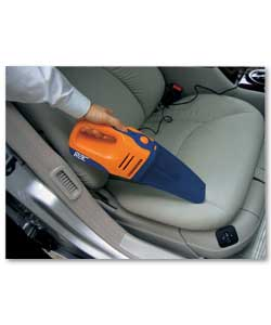 12V DC handheld cleaner. Wet and dry pick up. With crevice tool