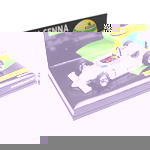A new 1/43 scale model from Minichamps of Ayrton Senna`s Ralt RT3 Toyota from the British Formula 3