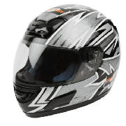 The RBDBI Roxter motorcycle helmet is lightweight and features a 6 point ventilation system. This la