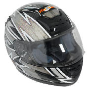 The RBDBI Roxter motorcycle helmet is lightweight and features a 6 point ventilation system. This sm