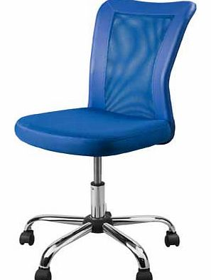This stylish office chair would make a practical addition to any office. It features a specifically designed mesh back to achieve optimum comfort. With its swivel mechanism and adjustable seat. it allows you to get comfortable and find your perfect p