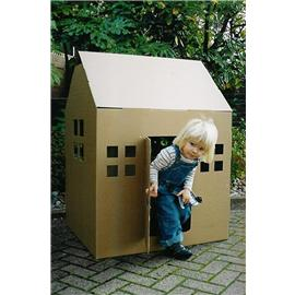 Unbranded Recycled Cardboard Play House