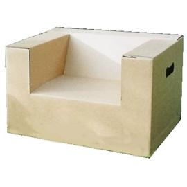 Unbranded Recycled Cardboard Toddler chair 2Pack