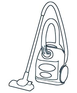 Pack of 5 bags to fit Miele Models: Revolution 700, S571, Allervac Sensor and Cat and Dog 700TT