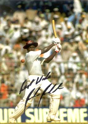 Richie Richardson was an integral part of the devasting West Indies batting line-up of the eighties