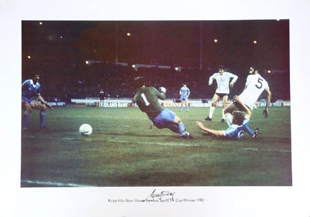 This superb large photographic print is a great tribute to the unforgettable goal scored by the Spur