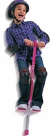 The Big Air Pogo Stick isnandrsquo;t just your average hopper. For a start, motion activated sensors actually light up as youre bouncing around. It also comes packed with features, including: Rugged and lightweight aluminium frame Grippy foot pads fo