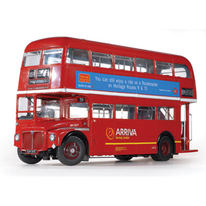 Unbranded Routemaster Bus RM2217 The Last Routemaster