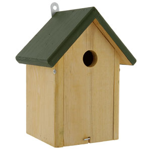 Made from FSC-certified timber, this delightful nest box has a 32mm entrance hole making it suitable