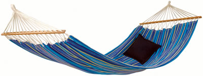 If you require something a little more sturdy then youll ideally want a hammock with bars. The