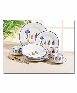 China Crockery Floral Flower