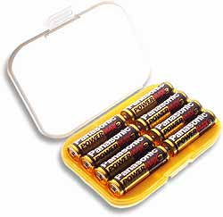 Safe Case for AA Batteries ~ EXCLUSIVE !