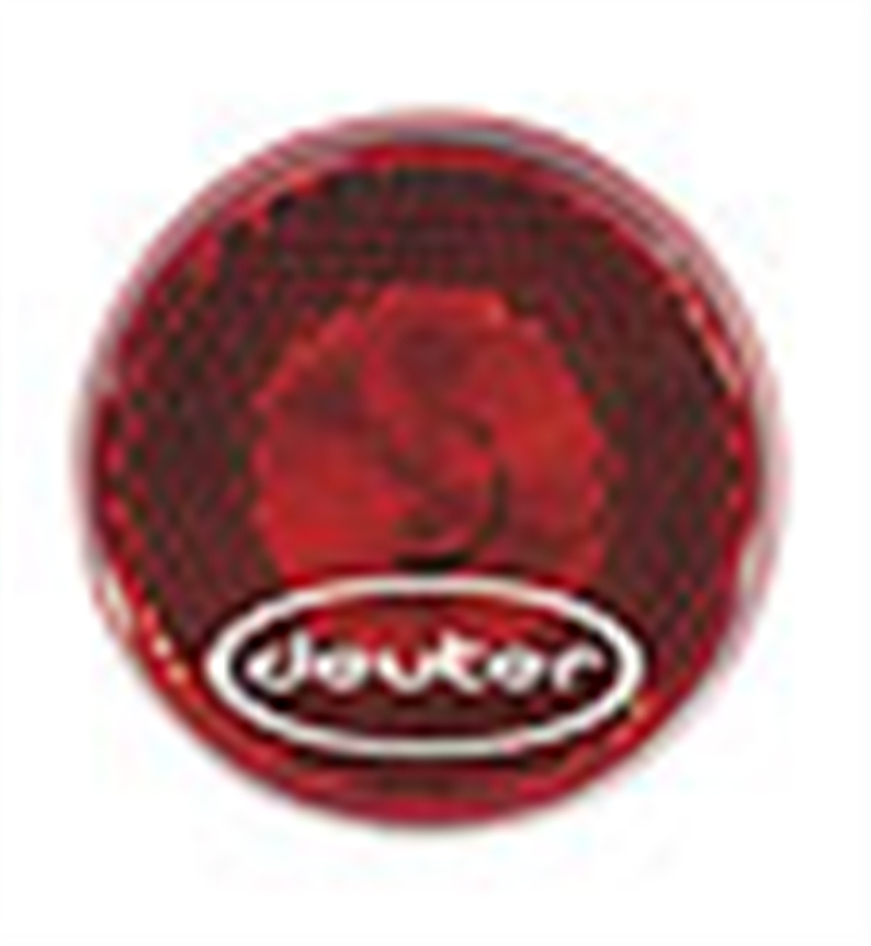 Flashing red light to clipped to backpacks, clothes, etc. Fits into the blinker loop of the Deuter