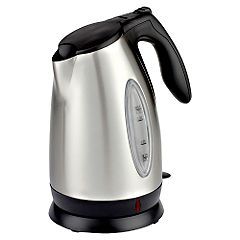 Sainsbury Stainless Steel 1.7L Cordless Kettle 2400W