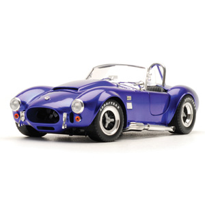 Unbranded Shelby Cobra 427 S/C Super Snake 1966 Blue 1:18