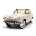 Unbranded Simca P60 1961 White/Red