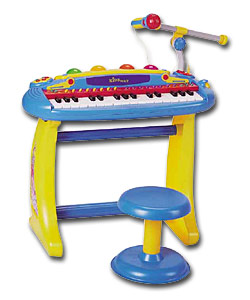 Sing-Along Keyboard and Stool.