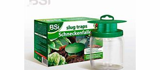 Pack of two extremely effective slug traps that can catch up to 20 slugs per day and can be emptied in a jiffy! Instead of beer use water + BSI Slug Bait - it works better and longer and is more economical than beer!