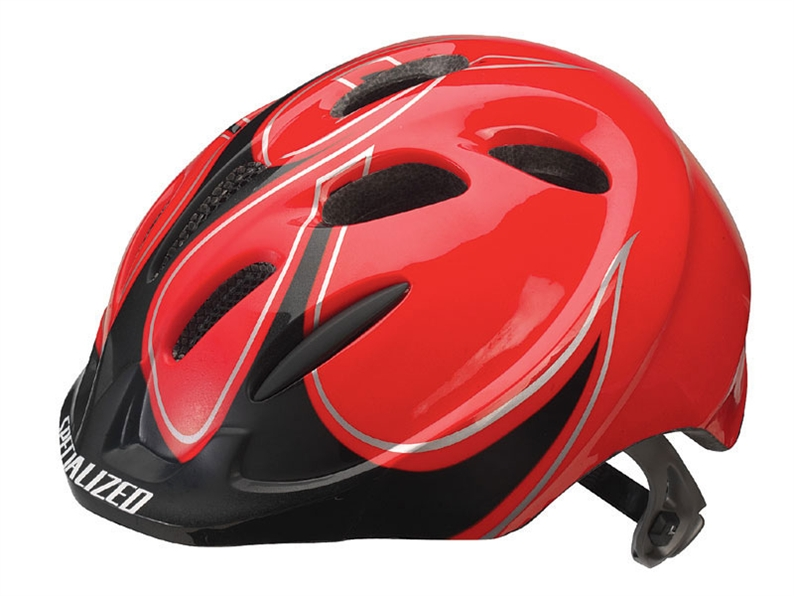 A kid's helmet that fits great thanks to our Form Fit adjustable fit system, and also meets the