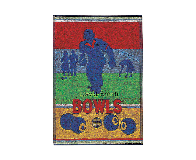 Unbranded Sports Towel - Bowls - Personalised