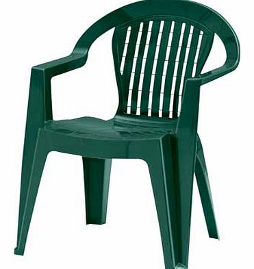 The perfect choice. this water resistant. outdoor dining chair is made of a resin compound that is extremely easy to clean. Elegantly and stylishly designed these green chairs provide comfort and support for yourself and guests to sit on whilst enjoy