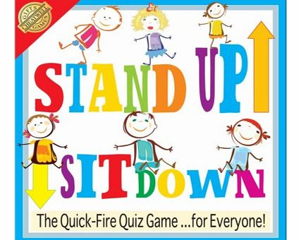 Stand Up - Sit Down Trivia QuizThis quick fire quiz game is great fun with the whole family during Christmas, birthdays and any occasion really!You answer the questions by sitting or standing and its very easy to get caught out by copying others!Prod
