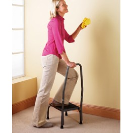 Now you can reach safely and confidently into that cupboard - with this sturdy and secure Step Stool
